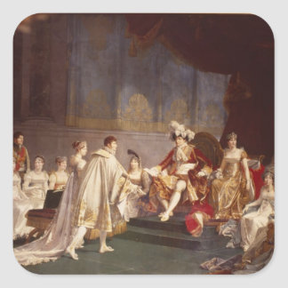 王子のジェロームBonaparte支持 スクエアシール