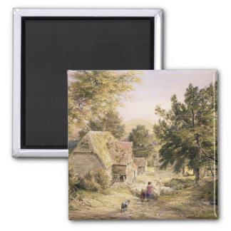 王子の近くのRisborough、1845/6農場構内(w/c マグネット
