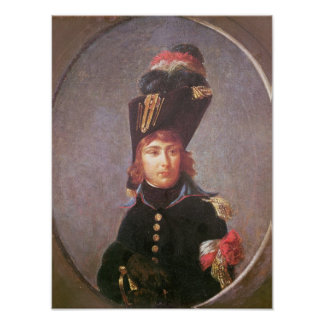 王子のEugene de Beauharnaisポートレート ポスター