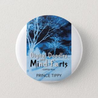 王子のtippy大きい頭脳ボタン 缶バッジ