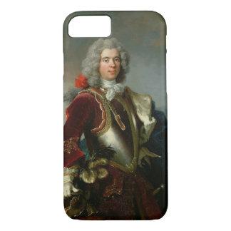 王子ジェイクス1er Grimaldi (カリフォルニアのポートレートの油 iPhone 8/7ケース