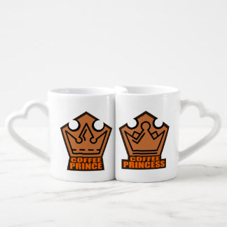 王子及びプリンセスのコーヒー・マグセット ペアカップ