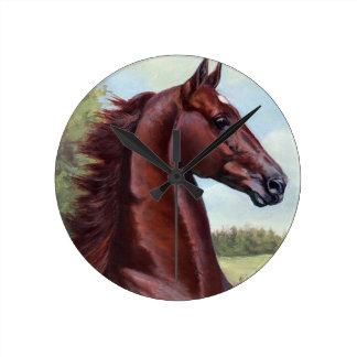 王子(JNSのファインアートによるWCの商人の王子 ラウンド壁時計
