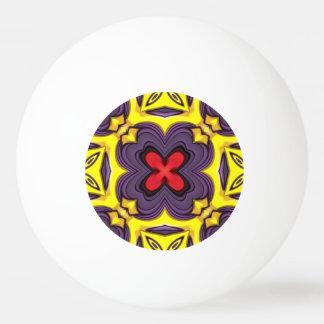王室のでカラフルなピンポン球 卓球 球
