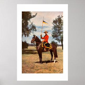 王室のなカナダ人によって取付けられる警官 ポスター