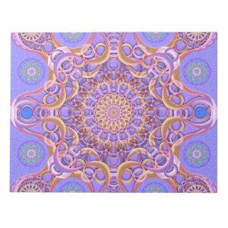 王室のなシールの曼荼羅 ノートパッド