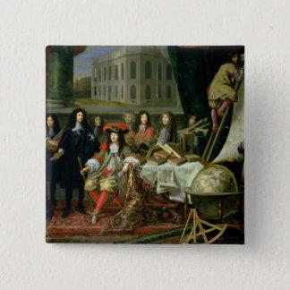 王室のなジーンBaptiste Colbertの示すこと 5.1cm 正方形バッジ