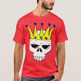 王室のなスカルのTシャツ Tシャツ