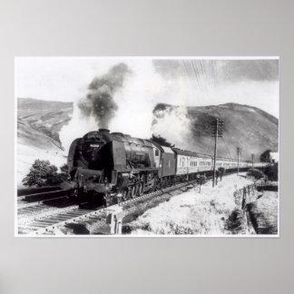 王室のなスコット、都市間機関車 ポスター