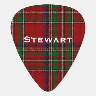 王室のなステュワートのタータンチェック格子縞のカスタムのギターピック ギターピック