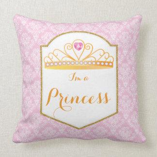 王室のなプリンセスのお祝いの枕20x20 クッション