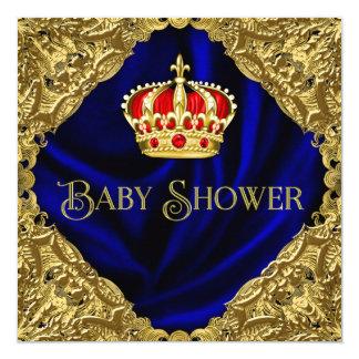 王室のなベビーシャワー カード