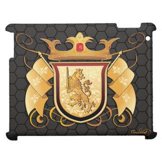 王室のなライオンの頂上のiPad iPad Case