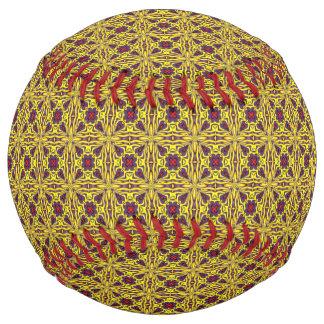 王室のなヴィンテージの万華鏡のように千変万化するパターンのソフトボール ソフトボール