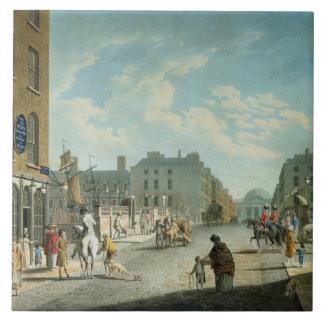 王室のな交換を用いるケープルの通り、ダブリン1800年 タイル