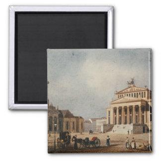 王室のな劇場および新しい教会1833年 マグネット