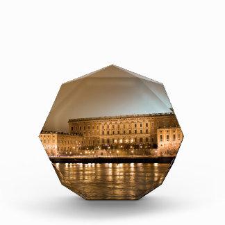 王室のな城、ストックホルムスウェーデン 表彰盾