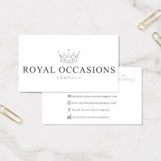 王室のな大事な行事のためのカスタムな名刺 名刺
