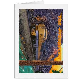 王室のな峡谷のリオ・グランデ川の探鉱者 カード