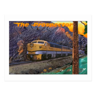 王室のな峡谷のリオ・グランデ川の探鉱者 ポストカード