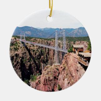 王室のな峡谷橋、米国の最も高いの セラミックオーナメント