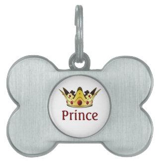 王室のな王冠ペット名札 ペットネームタグ