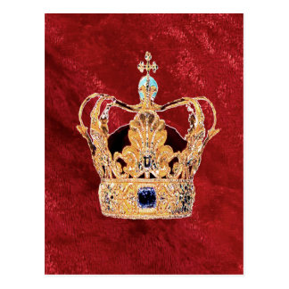 王室のな王冠 ポストカード