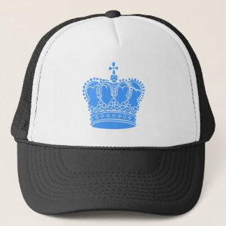 王室のな王冠-空色 キャップ