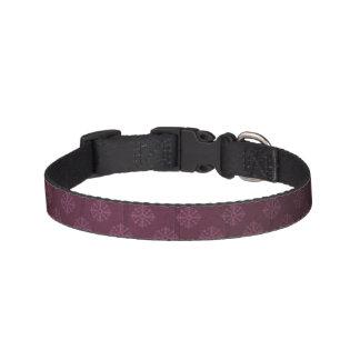 王室のな紫色のドッグカラー ペット首輪