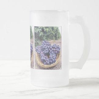 王室のな紫色のブドウ フロストグラスビールジョッキ