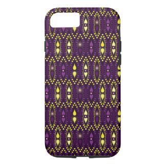 王室のな紫色のBohoのジプシーのボヘミアの上品 iPhone 8/7ケース