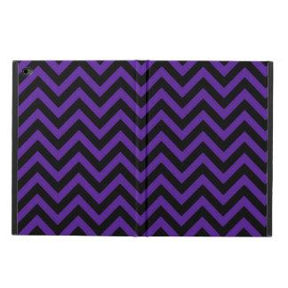 王室のな紫色シェブロン2 POWIS iPad AIR 2 ケース