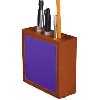 王室のな紫色(無地)の~ ペンスタンド