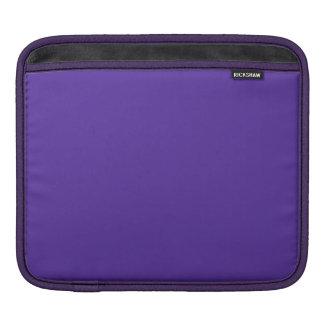 王室のな紫色(無地)の~ iPadスリーブ