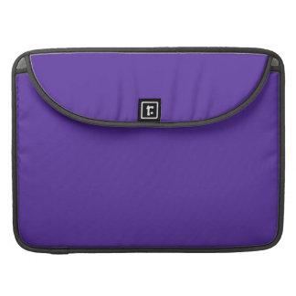 王室のな紫色(無地)の~ MacBook PROスリーブ