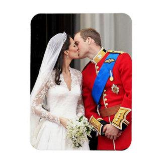 王室のな結婚式 マグネット