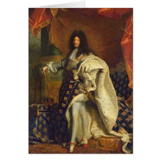 王室のな衣裳のルイ14世、1701年 カード
