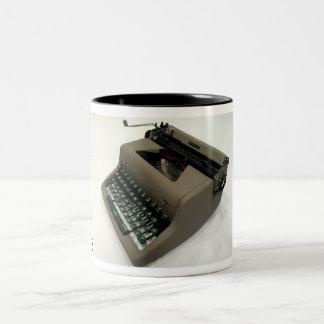 王室のな貴族のタイプライター ツートーンマグカップ