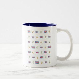 王室のな連合マグ ツートーンマグカップ