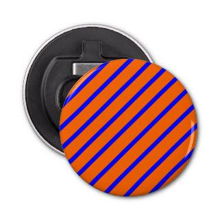 王室のな青オレンジストライプが付いている栓抜き 栓抜き
