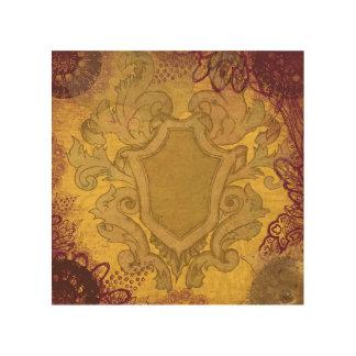 王室のな頂上の壁木パネル ウッドウォールアート