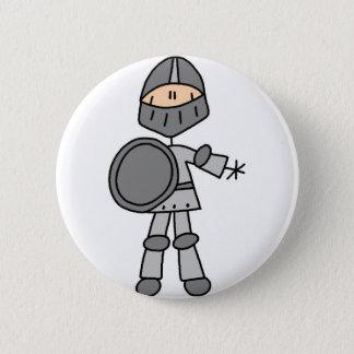 王室のな騎士ボタン 5.7CM 丸型バッジ