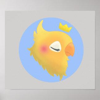 王室のな鳥 ポスター