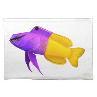 王室のなGrammaの珊瑚礁の魚のアメリカ人MoJo Placema ランチョンマット