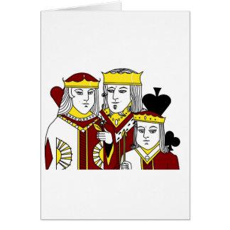 王室の肖像画のトランプゲームのトランプのポーカー項目 カード