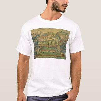 王宮、ブリュッセルの眺め Tシャツ