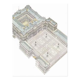 王宮。 マドリードスペイン ポストカード