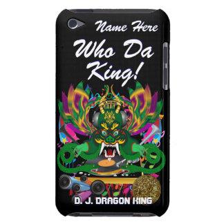 王眺め謝肉祭D.J. Dragonは暗示します Case-Mate iPod Touch ケース