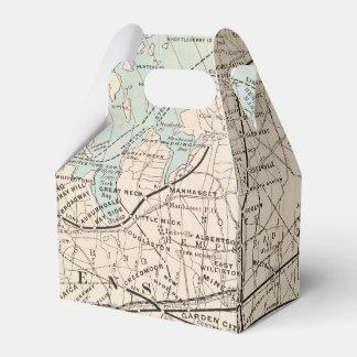 王、女王、ロングアイランドの地図 フェイバーボックス