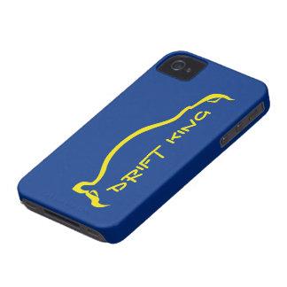 """""""王"""" STIを青/黄色のシルエット漂わせて下さい Case-Mate iPhone 4 ケース"""